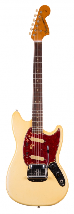 Lot Number 207. 1966 Fender Mustang electric guitar, made in USA, ser. no. 1xxxx. Auctioned at The Guitar Auction - Including the Frank Allen Collection on 12th December 2018