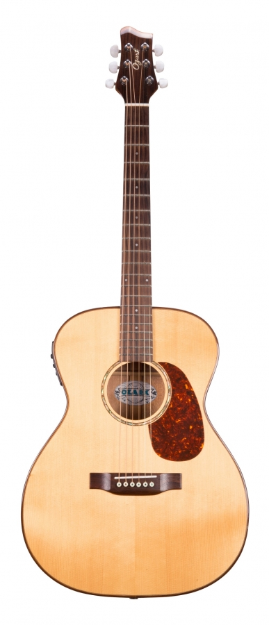 Lot Number 280. Ozark 3850 electro-acoustic guitar. Auctioned at The Guitar Auction - Including the Frank Allen Collection on 12th December 2018