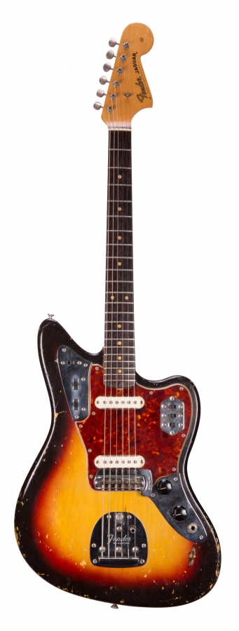 Lot Number 72. 1963 Fender Jaguar electric guitar, made in USA, ser. no. L1xxx9. Auctioned at The Guitar Auction - Including the Frank Allen Collection on 12th December 2018