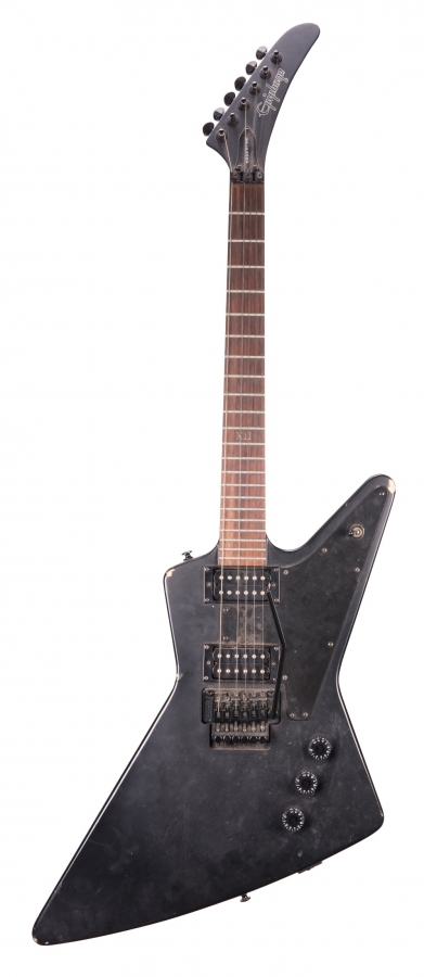 Lot Number 77. 2002 Epiphone Gothic '58 Explorer electric guitar, made in Korea, ser. no. U02xxxx71. Auctioned at The Guitar Auction - Including the Frank Allen Collection on 12th December 2018