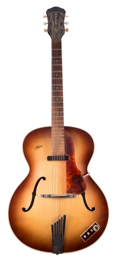 Lot Number 8. 1959 Hofner Senator electric archtop guitar, made in Germany, ser. no. 8xx4. Auctioned at The Guitar Auction - Including the Frank Allen Collection on 12th December 2018