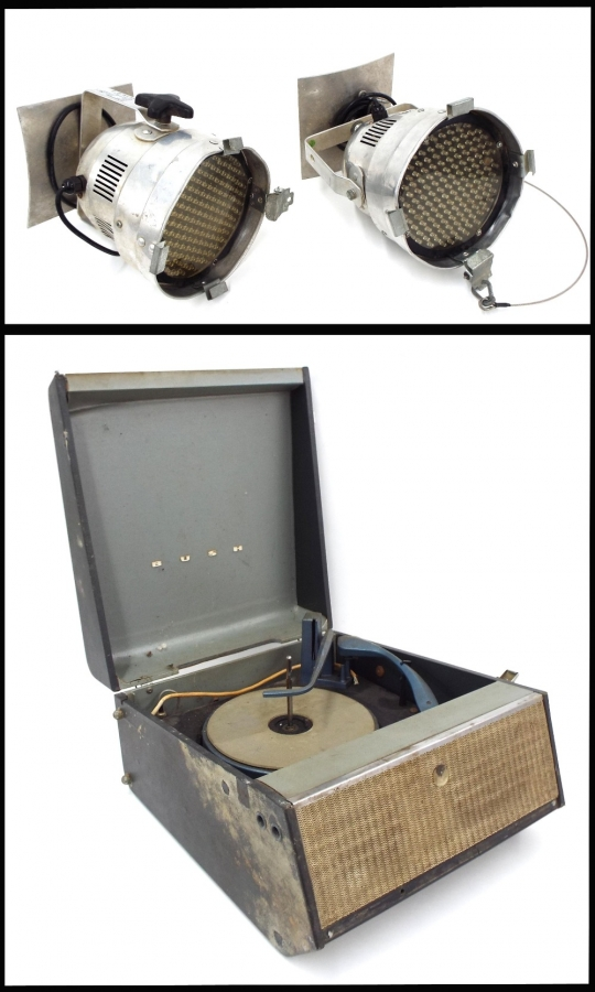 Lot Number 134. Bush Monarch SRP.31D record player, ser. no. 522/40779. Auctioned at The Guitar Auction - Including Music Memorabilia on 12th September 2018