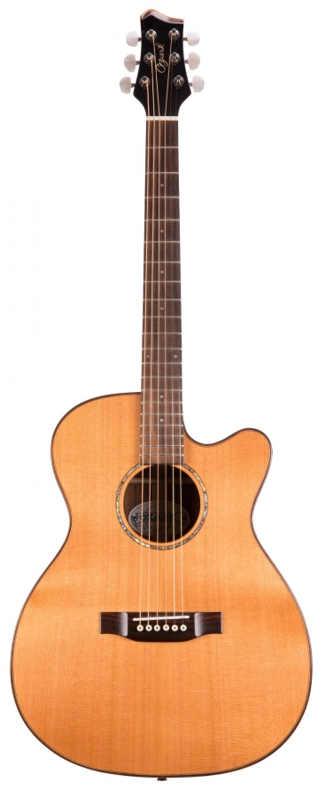Lot Number 273. Ozark 3802 acoustic guitar. Auctioned at The Guitar Auction - Including Music Memorabilia on 12th September 2018