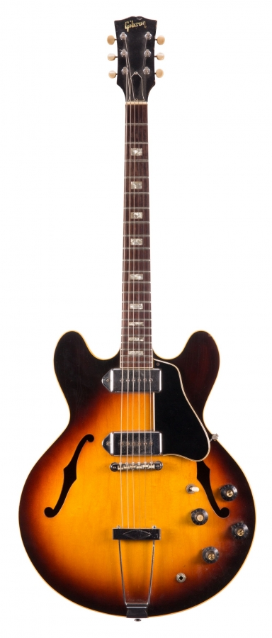 Lot Number 355. Late 1960s Gibson ES330TD hollow body electric guitar, made in USA, ser. no. 3xxxx0. Auctioned at The Guitar Auction - Including Music Memorabilia on 12th September 2018