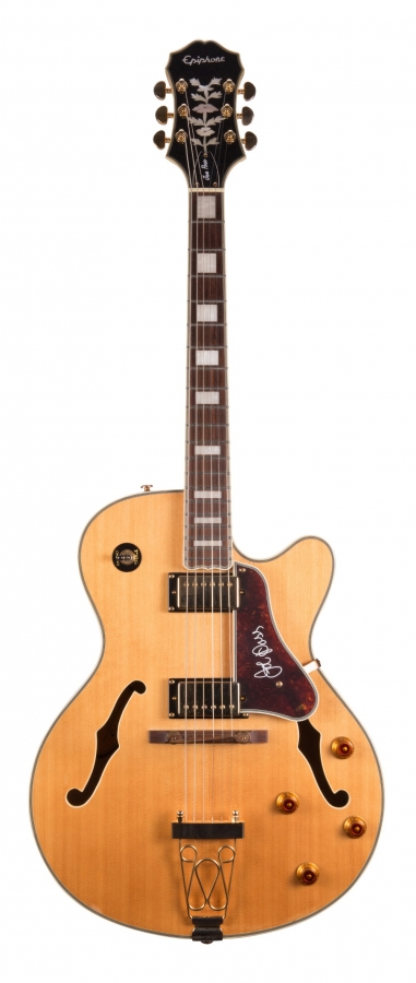 Lot Number 397. 2010 Epiphone Joe Pass Emperor-II/N hollow body electric guitar, ser. no. 10xxxxxx12. Auctioned at The Guitar Auction - Including Music Memorabilia on 12th September 2018