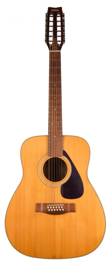 Lot Number 421. Yamaha FG-312 twelve string acoustic guitar, made in Taiwan. Auctioned at The Guitar Auction - Including Music Memorabilia on 12th September 2018