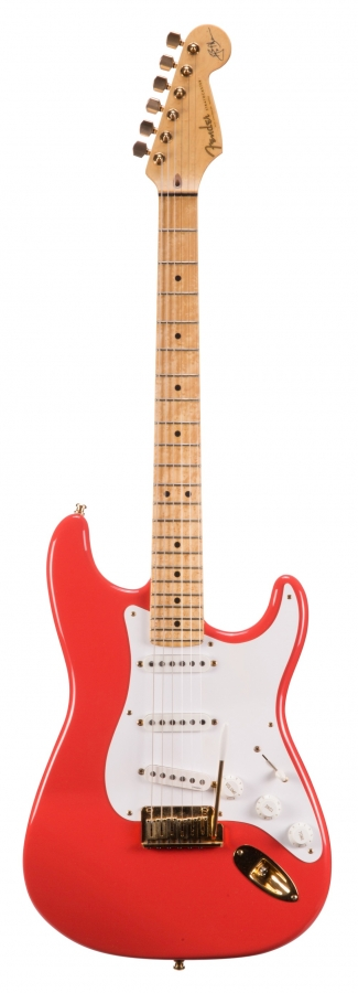 Lot Number 503. 1993 Fender Custom Shop Hank Marvin Stratocaster electric guitar, made in USA, ser. no. 086. Auctioned at The Guitar Auction - Including Music Memorabilia on 12th September 2018