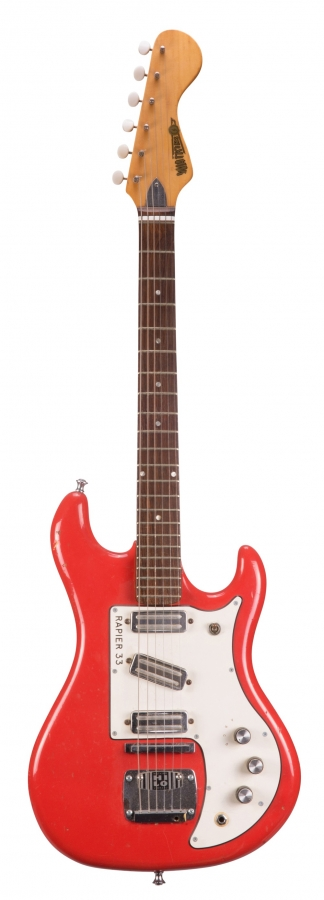 Lot Number 538. 1960s Watkins Rapier 33 electric guitar, made in England, ser. no. 1xxx5. Auctioned at The Guitar Auction - Including Music Memorabilia on 12th September 2018