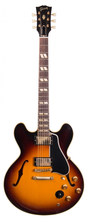 Lot Number 180. 2014 Gibson Memphis ES345-TD semi-hollow body electric guitar, made in USA, ser. no. A0xxx2. Auctioned at The Guitar Auction on 14th June 2018