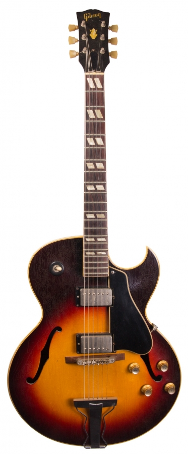 Lot Number 218. 1962 Gibson ES175 hollow body electric guitar, made in USA, ser. no. 4xxx8. Auctioned at The Guitar Auction on 14th June 2018
