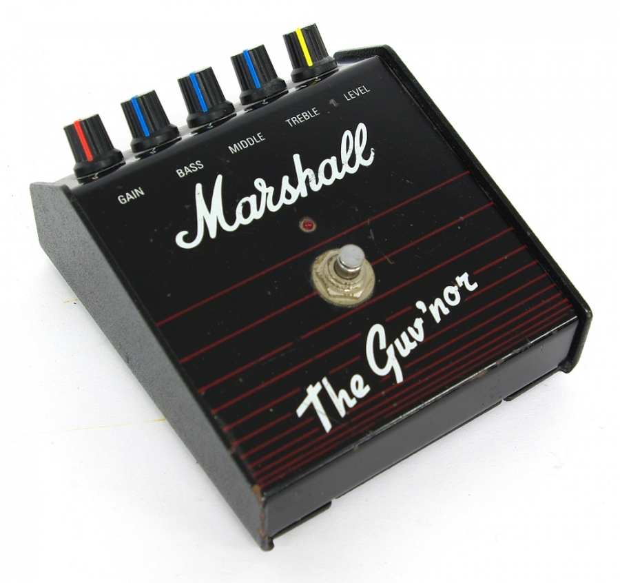 Lot Number 388. Marshall The Guv'nor guitar pedal, ser. no. 17129. Auctioned at The Guitar Auction on 14th June 2018