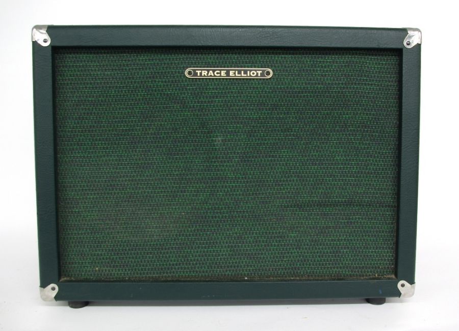 Lot Number 435. Trace Elliot GSC212A 2 x 12 guitar amplifier speaker cabinet, in working order. Auctioned at The Guitar Auction on 14th June 2018
