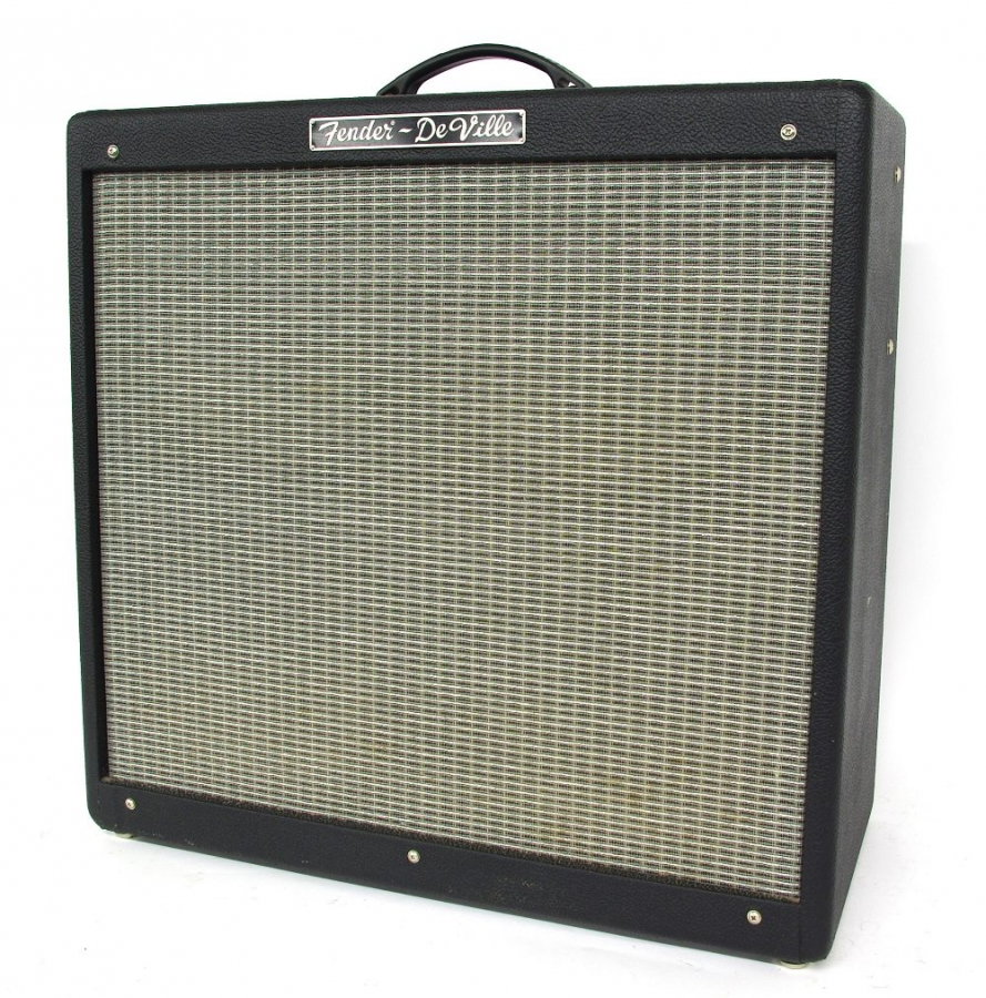 Lot Number 456. Fender Hot Rod De Ville guitar amplifier, made in Mexico, ser. no. B-242507, working, original dust cover. Auctioned at The Guitar Auction on 14th June 2018