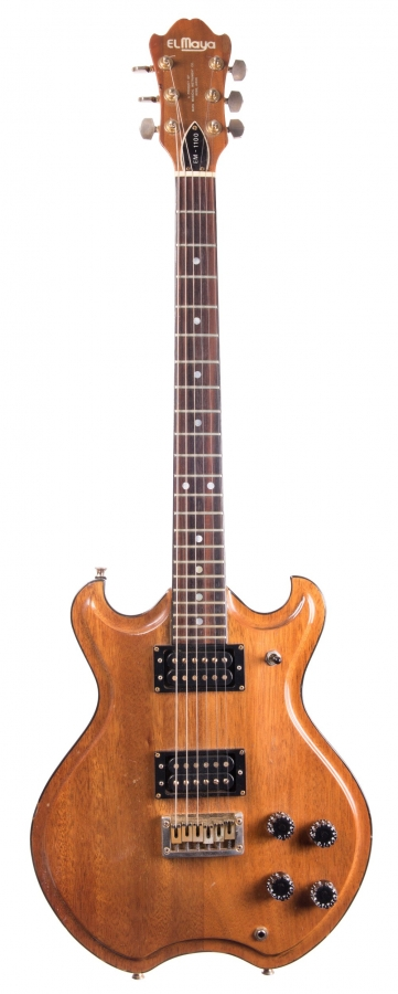 Lot Number 49. Late 1970s El Maya EM-1100 electric guitar, made in Japan. Auctioned at The Guitar Auction on 14th June 2018
