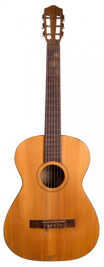 Lot Number 582. Hofner Flamenco acoustic guitar, made in Germany, ser. no. 3805. Auctioned at The Guitar Auction on 14th June 2018