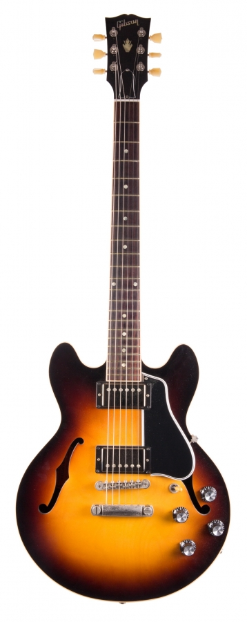 Lot Number 272. 2014 Gibson Memphis ES339 hollow body electric guitar, made in USA, ser. no. ME4xxxx0. Auctioned at The Guitar Auction on 8th March 2018