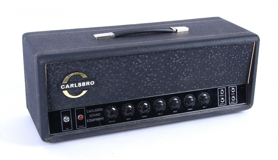 Lot Number 362. Late 1960s Carlsbro CS60 guitar amplifier head, ser. no. 2948. Auctioned at The Guitar Auction on 8th March 2018