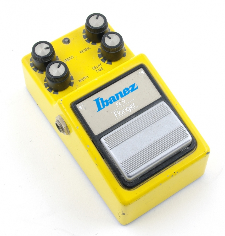 Lot Number 481. Ibanez FL9 Flanger guitar pedal, made in Japan, ser. no. 281919. Auctioned at The Guitar Auction on 8th March 2018
