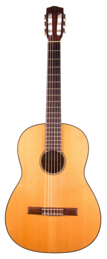 Lot Number 626. Besson Aristone Model 110 classical guitar, ser. no. 3172. Auctioned at The Guitar Auction on 8th March 2018