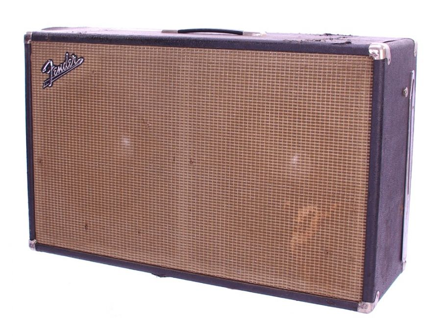 Lot Number 126. *Gary Moore - Fender twin speaker guitar amplifier cabinet *Used on some demo sessions for the 'After Hours' album while recording in the US in 1991 **This lot is subject to VAT of 20% on the hammer price  ?80-120. Auctioned at The Guitar Auction - Including The Gary Moore Collection on 11th December 2019