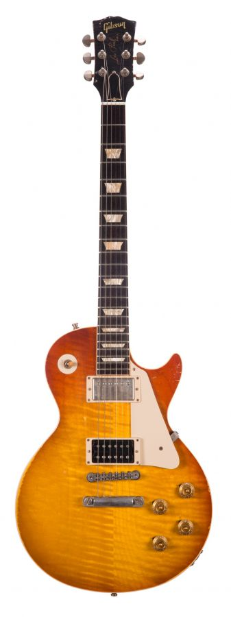 Lot Number 13. 2004 Gibson Custom Jimmy Page no. 1 Les Paul Tom Murphy aged electric guitar, made in USA, no. 120 of 150. Auctioned at The Guitar Auction - Including The Gary Moore Collection on 11th December 2019