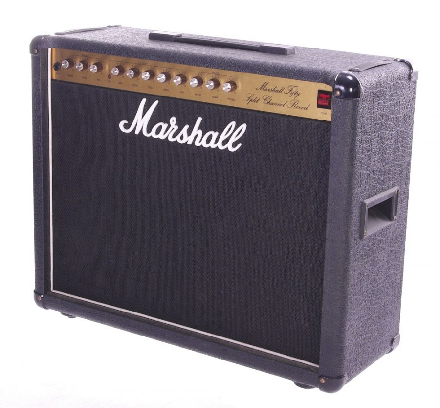 Lot Number 144. *Gary Moore - 1988 Marshall model 5212 Fifty Split Channel Reverb guitar amplifier, made in England, ser. no. W15264 **This lot is subject to VAT of 20% on the hammer price  ?150-250. Auctioned at The Guitar Auction - Including The Gary Moore Collection on 11th December 2019