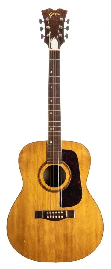 Lot Number 315. Levin Goya 172 acoustic guitar made in Sweden, circa 1969, ser. no. Y0xxx7. Auctioned at The Guitar Auction - Including The Gary Moore Collection on 11th December 2019