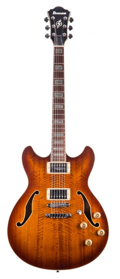 Lot Number 368. 2005 Ibanez Artcore Series AS83-VLS-12-01 semi-hollow body electric guitar, made in China, ser. no. S05xxxx56. Auctioned at The Guitar Auction - Including The Gary Moore Collection on 11th December 2019