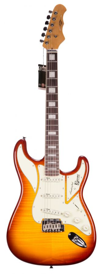 Lot Number 427. 2018 Burns Club Series King Cobra electric guitar, sunburst finish (new/old stock)  ?100-200. Auctioned at The Guitar Auction - Including The Gary Moore Collection on 11th December 2019