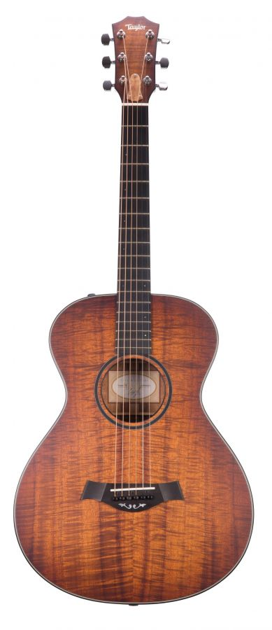 Lot Number 446. 2014 Taylor Custom TF electro-acoustic guitar, made in USA, ser. no. 1xxxxxx4. Auctioned at The Guitar Auction - Including The Gary Moore Collection on 11th December 2019