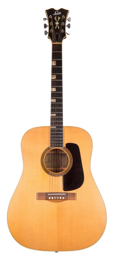 Lot Number 91. Levin model 174 acoustic guitar, made in Sweden, circa 1973. Auctioned at The Guitar Auction - Including The Gary Moore Collection on 11th December 2019