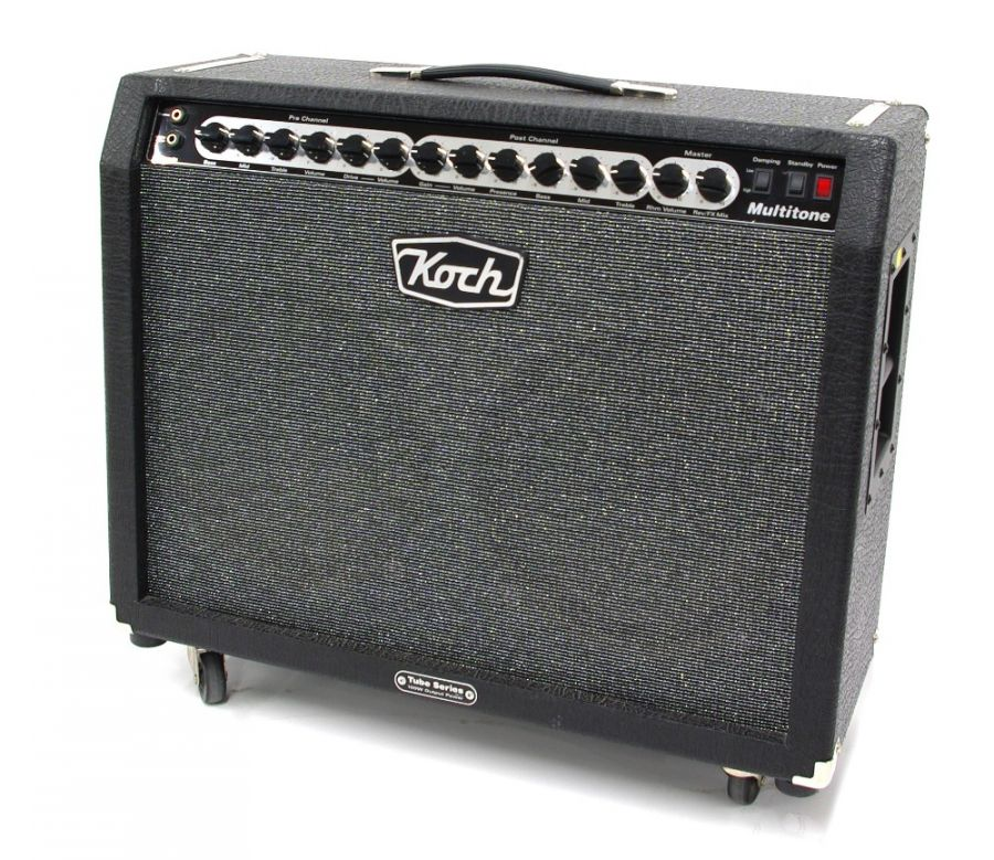 Lot Number 611. Koch Multitone guitar amplifier, made in The Netherlands, ser. no. 311101062. Auctioned at Guitar Amps, Effects & Memorabilia on 12th December 2019