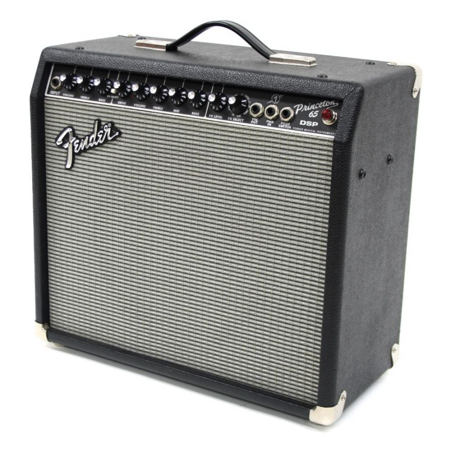Lot Number 630. 2003 Fender Princeton 65 DSP combo amplifier, made in Indonesia, 65W within one 12